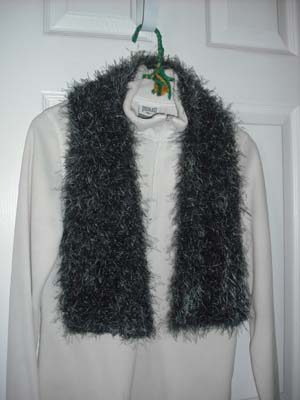 Crochet Scarf Patterns With Fun Fur Dancox For