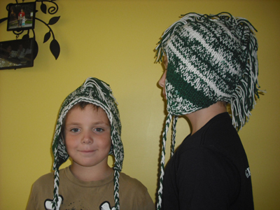 Knitted Mohawk Hats
