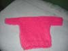 American Doll - Pink Sweater